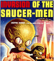 Wednesday's Featured B-Movie: Invasion of the Saucer Men (1957)